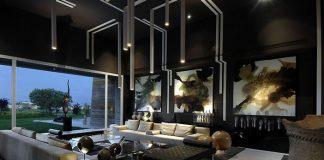 Décoration intérieure moderne dans une maison